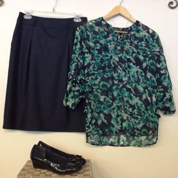 Burberry Dresses & Skirts - Burberry Pencil Skirt